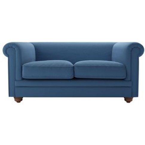 Patrick Unbuttoned 2 Seat Sofa In Heather Blue Smart...