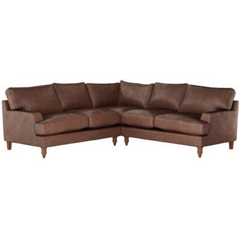 Isla Medium Corner Sofa in Satchel Vintage Leather