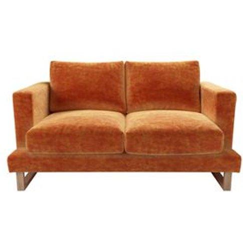 Madison 2 Seat Sofa In Ganges Roosevelt Velvet