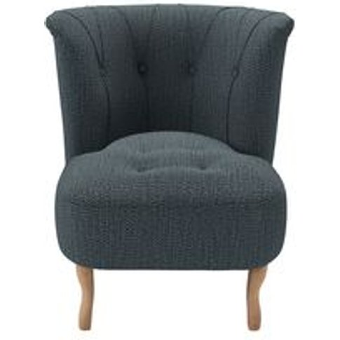 Evie Armchair In Chatsworth Dovedale