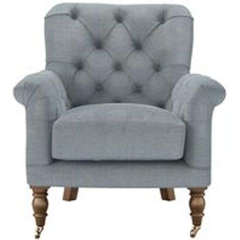 Poppy Armchair In Buttermere Baylee Viscose Linen