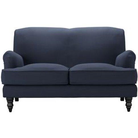 Snowdrop 2 Seat Sofa In Mercury Smart Linen