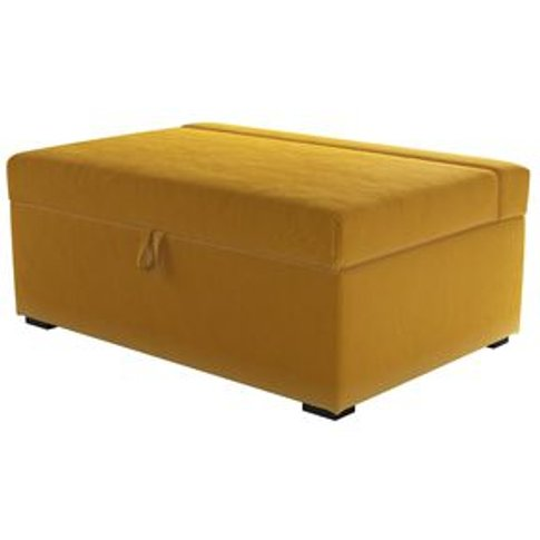 Henry Single Bed In Box In Butterscotch Cotton Matt ...