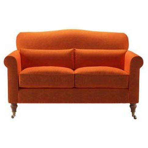 Dahlia 2 Seat Sofa In Paprika Smart Velvet