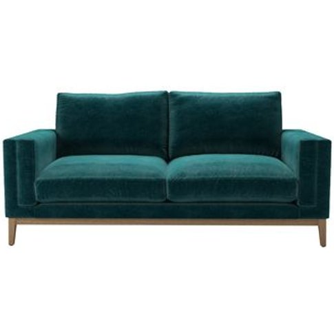 Costello (Plinth) 2.5 Seat Sofa In Jade Smart Velvet