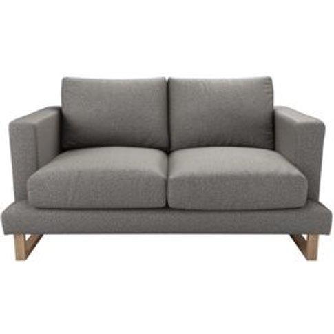Madison 2 Seat Sofa In Badger Dappled Viscose Wool