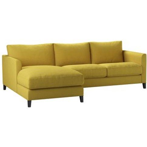 Izzy Small LHF Chaise Sofa in Lemon Drop Pick 'N' Mi...