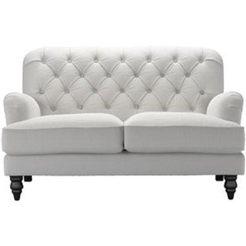 Snowdrop Button Back 2 Seat Sofa (Breaks Down) In Al...