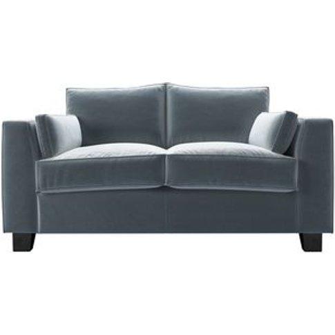 Bowie 2 Seat Sofa In Windermere Cotton Matt Velvet
