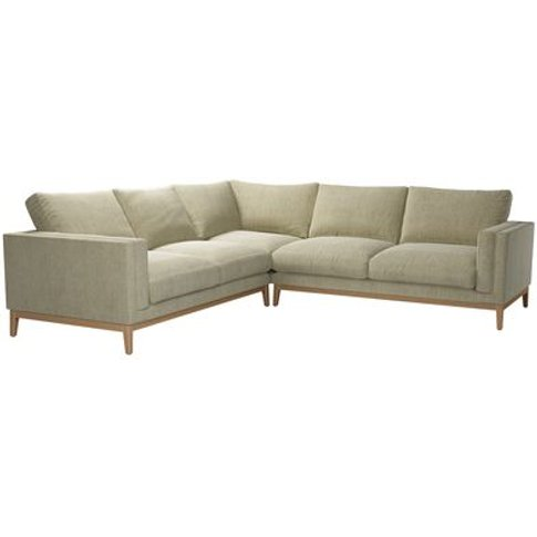 Costello (Plinth) Large Corner Sofa In Cashmere Chenille