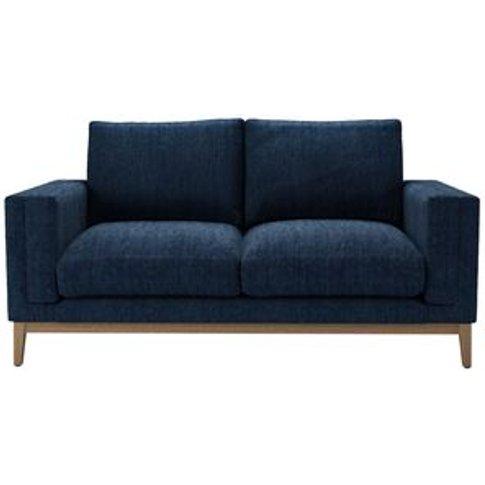 Costello (Plinth) 2 Seat Sofa In Channel Blue Sandgate