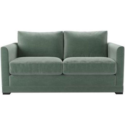 Aissa 2 Seat Sofa (Breaks Down) In Sage Smart Velvet
