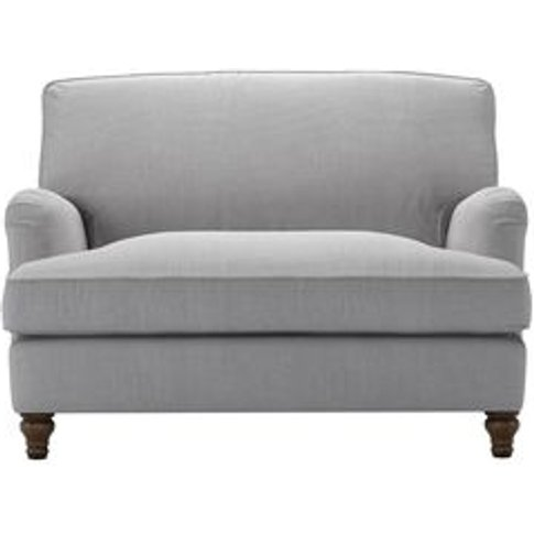 Bluebell Loveseat Sofabed In Cobble Brushed Linen Co...