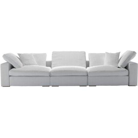 Long Island 3 Seat Sofa In Pumice House Herringbone ...