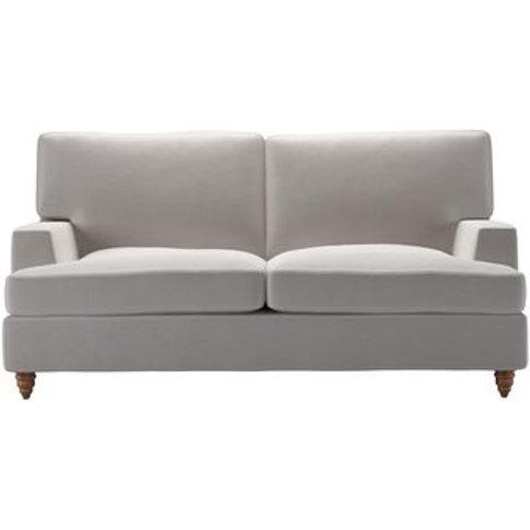 Isla 2 Seat Sofabed In Dove Smart Velvet