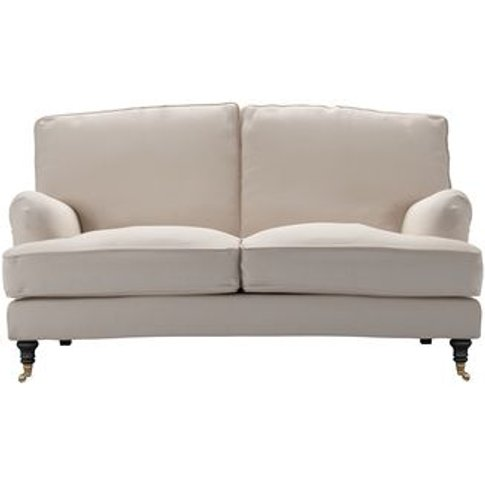 Bluebell 2 Seat Sofa In Oat Smart Linen