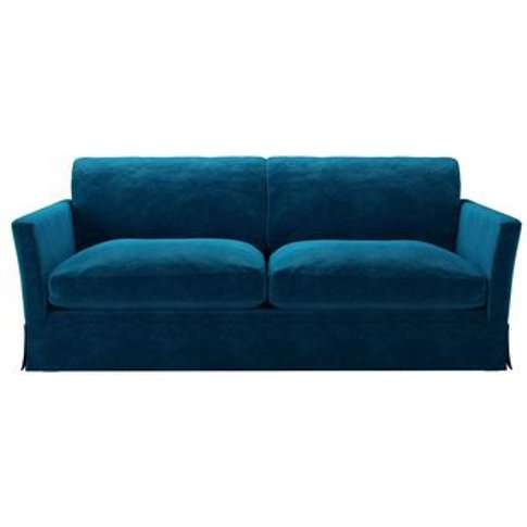 Otto 3 Seat Sofabed In Scuba Smart Velvet