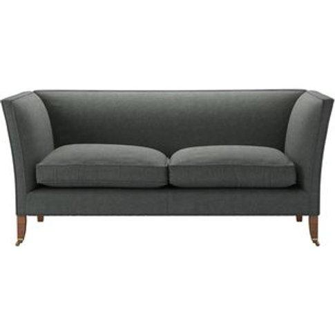 Descartes Plain 2.5 Seat Sofa In Wells Norfolk Cotton