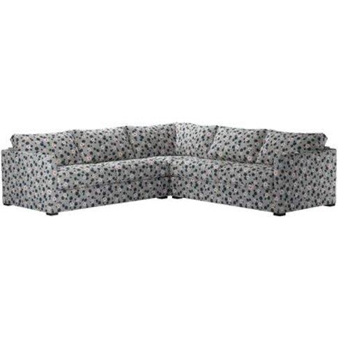 Aissa Medium Corner Sofa In Hippo Wild Thing