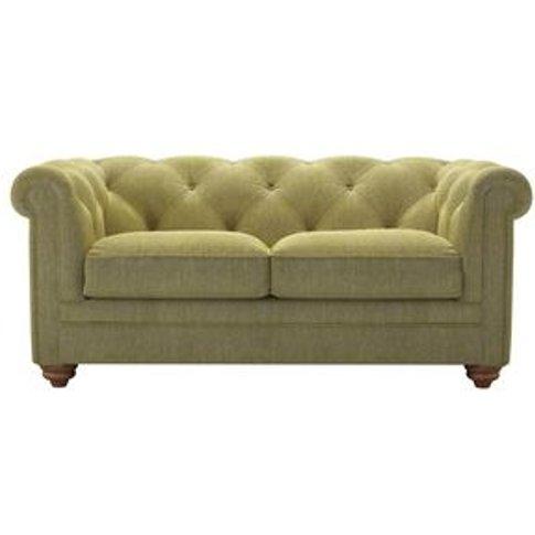 Patrick 2 Seat Sofa In Chartreuse Chenille