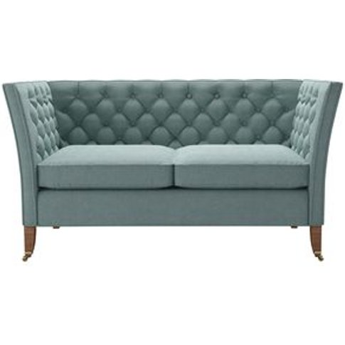 Descartes 2 Seat Sofa In Holkham Norfolk Cotton