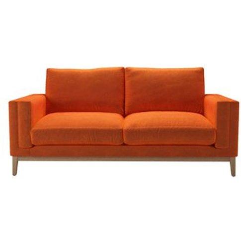 Costello (Plinth) 2.5 Seat Sofa In Paprika Smart Velvet
