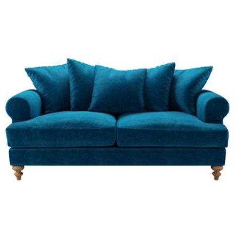 Teddy 2.5 Seat Sofa In Scuba Smart Velvet