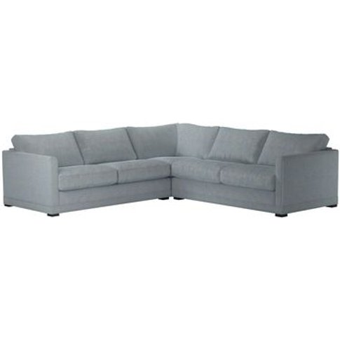 Aissa Medium Corner Sofa In Buttermere Baylee Viscos...