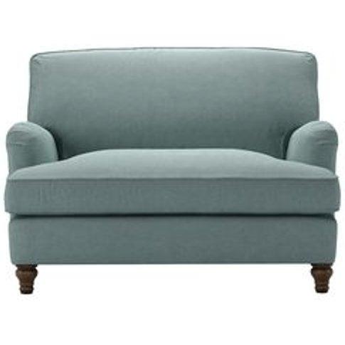 Bluebell Loveseat Sofabed In Holkham Norfolk Cotton
