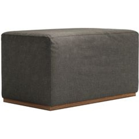 Hugo Small Rectangular Footstool In Salthouse Norfol...