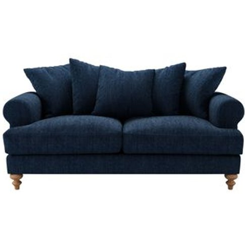 Teddy 2.5 Seat Sofa In Channel Blue Sandgate