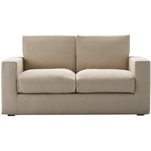 Stella 2 Seat Sofabed In Moon Smart Cotton