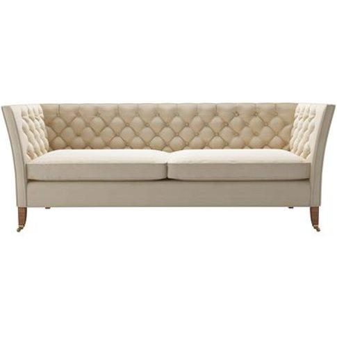Descartes 3 Seat Sofa In Moon Smart Cotton