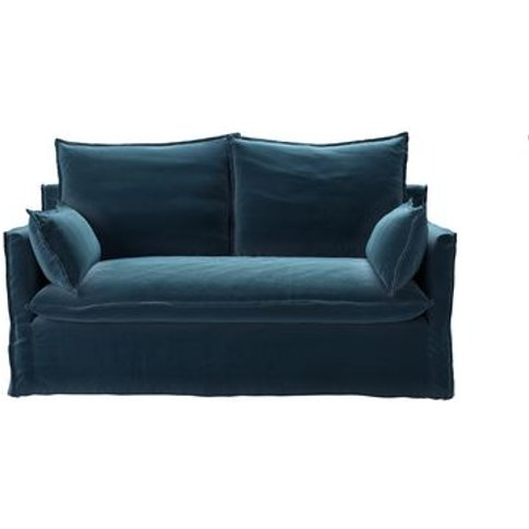 Isaac 2 Seat Sofa In Seaweed Smart Cotton