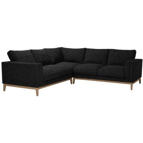 Costello (Plinth) Medium Corner Sofa In Ashford Text...