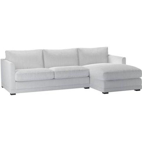 Aissa Medium Rhf Chaise Sofa In Pumice House Herring...