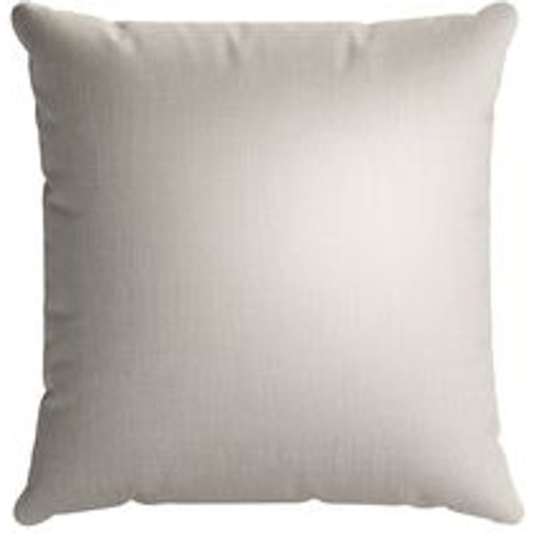 55x55cm Scatter Cushion In Canvas Pure Belgian Linen