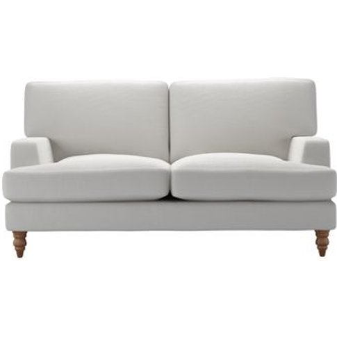 Isla 2 Seat Sofa In Alabaster Brushed Linen Cotton