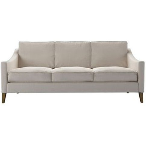 Iggy 3 Seat Sofa (Breaks Down) In Taupe Brushed Line...