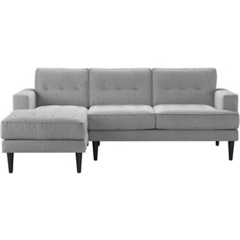 Mabel Medium Lhf Chaise Sofa In Stepping Stone Dovedale