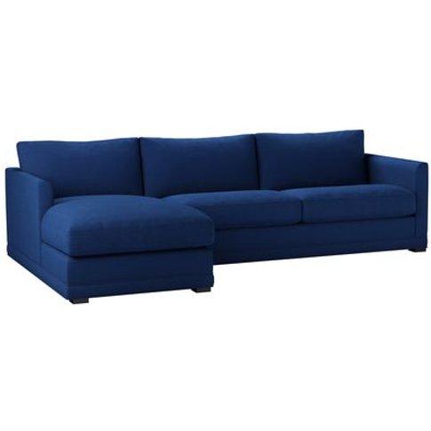 Aissa Large Lhf Chaise Sofa In Wild Blackberry Pick ...