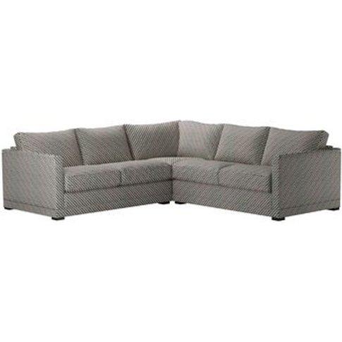 Aissa Small Corner Sofa In Starling Tori Murphy Clim...