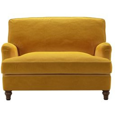 Bluebell Loveseat Sofabed in Butterscotch Cotton Mat...