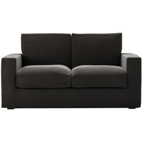 Stella 2 Seat Sofa (Breaks Down) In Battleship Grey ...
