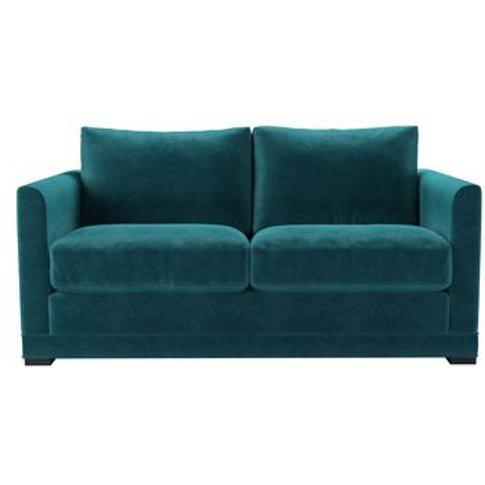 Aissa 2 Seat Sofa (Breaks Down) In Neptune Smart Velvet