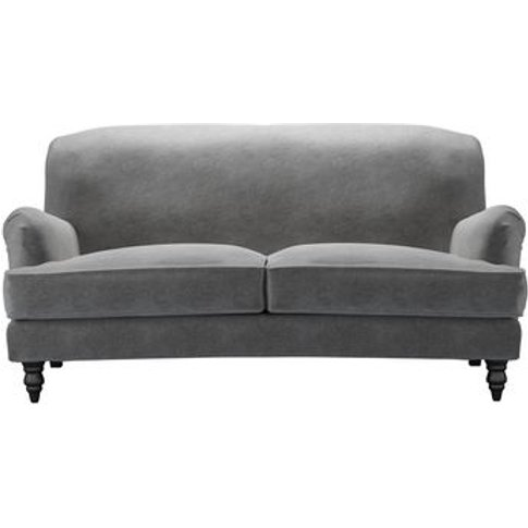 Snowdrop 2.5 Seat Sofa In Earl Grey Smart Velvet