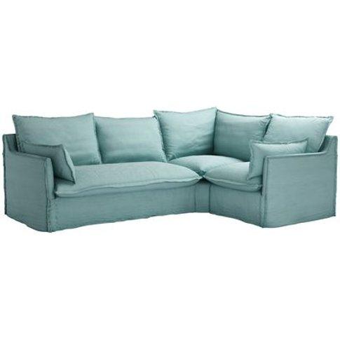 Isaac Asym: Lhf 2 Seat Sofabed W Rhf Single In Eucal...