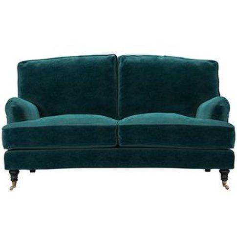 Bluebell 2 Seat Sofa In Jade Smart Velvet