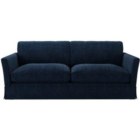 Otto 3 Seat Sofa In Channel Blue Sandgate