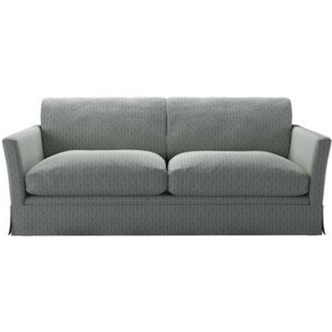 Otto 3 Seat Sofabed In Nickel Hawthorn Stencil